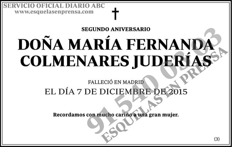 María Fernanda Colmenares Juderías